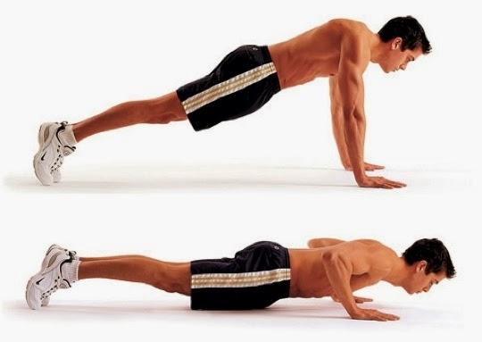 Resultado de imagem para Flexões de braços